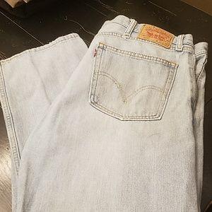 Levi mens 505 jeans